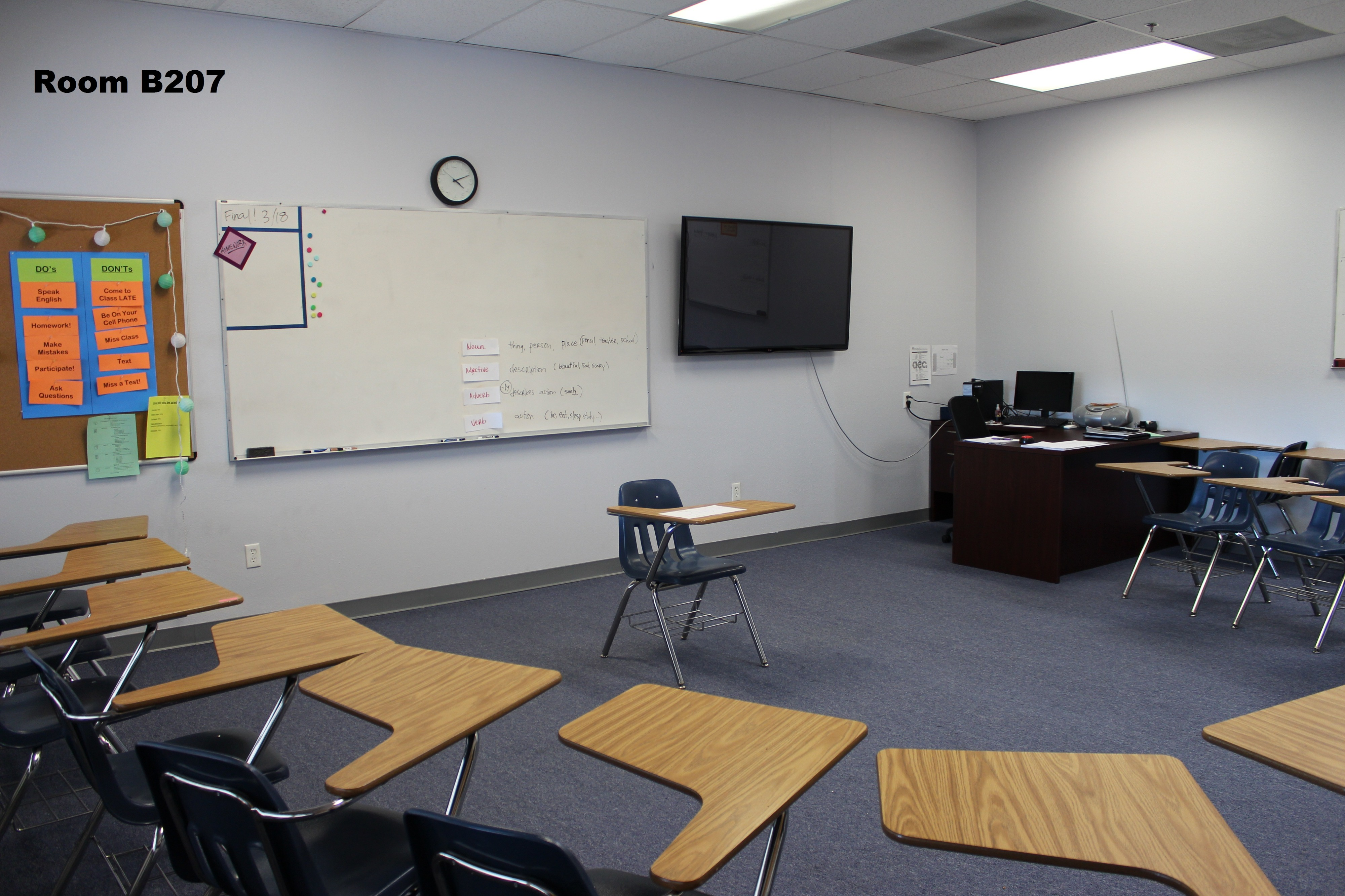 Bright, Large and Small Fully Equipped Classrooms / Workshop