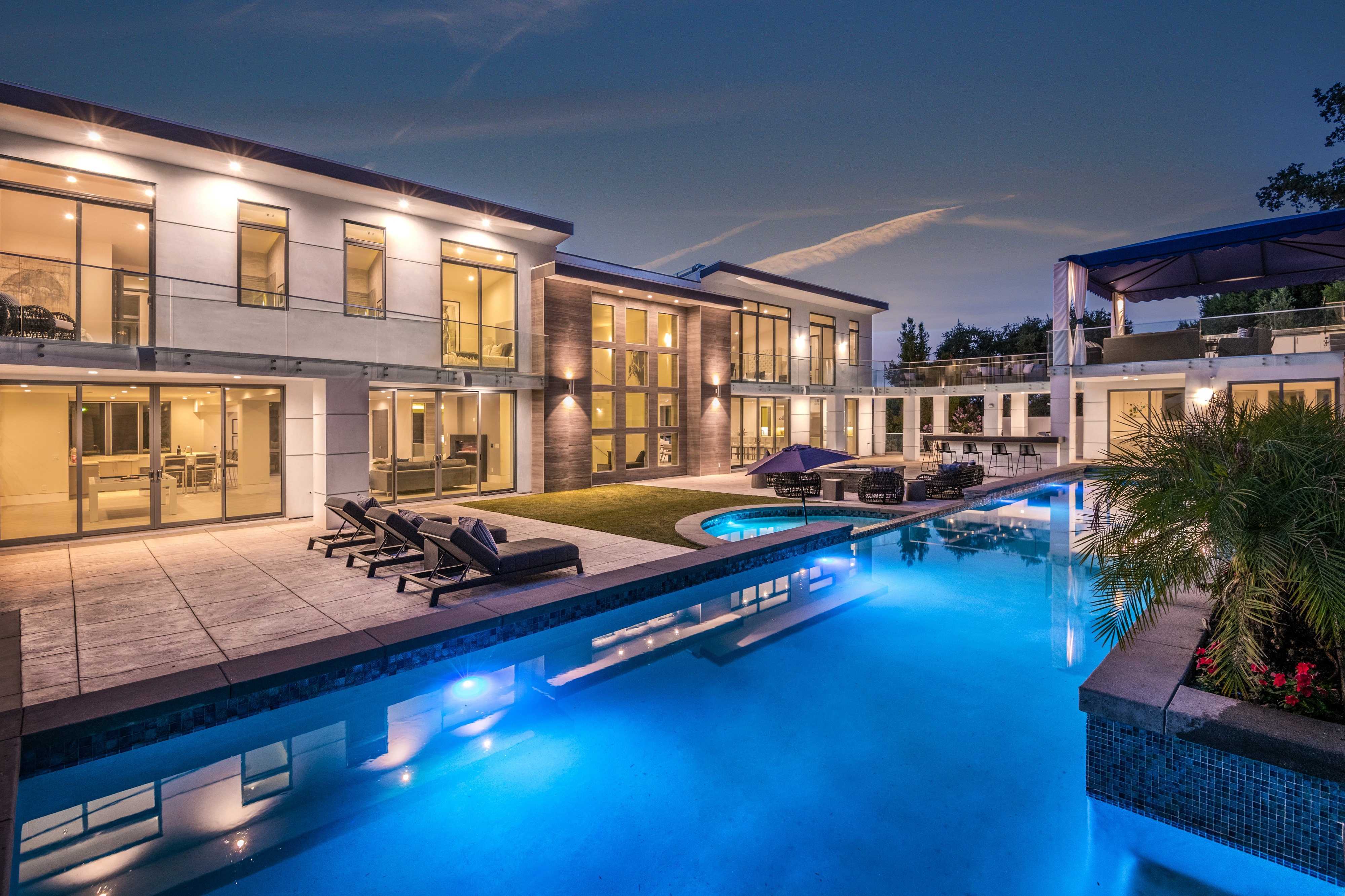 Ultra modern huge mansion with pool and tennis encino ca off site peerspace