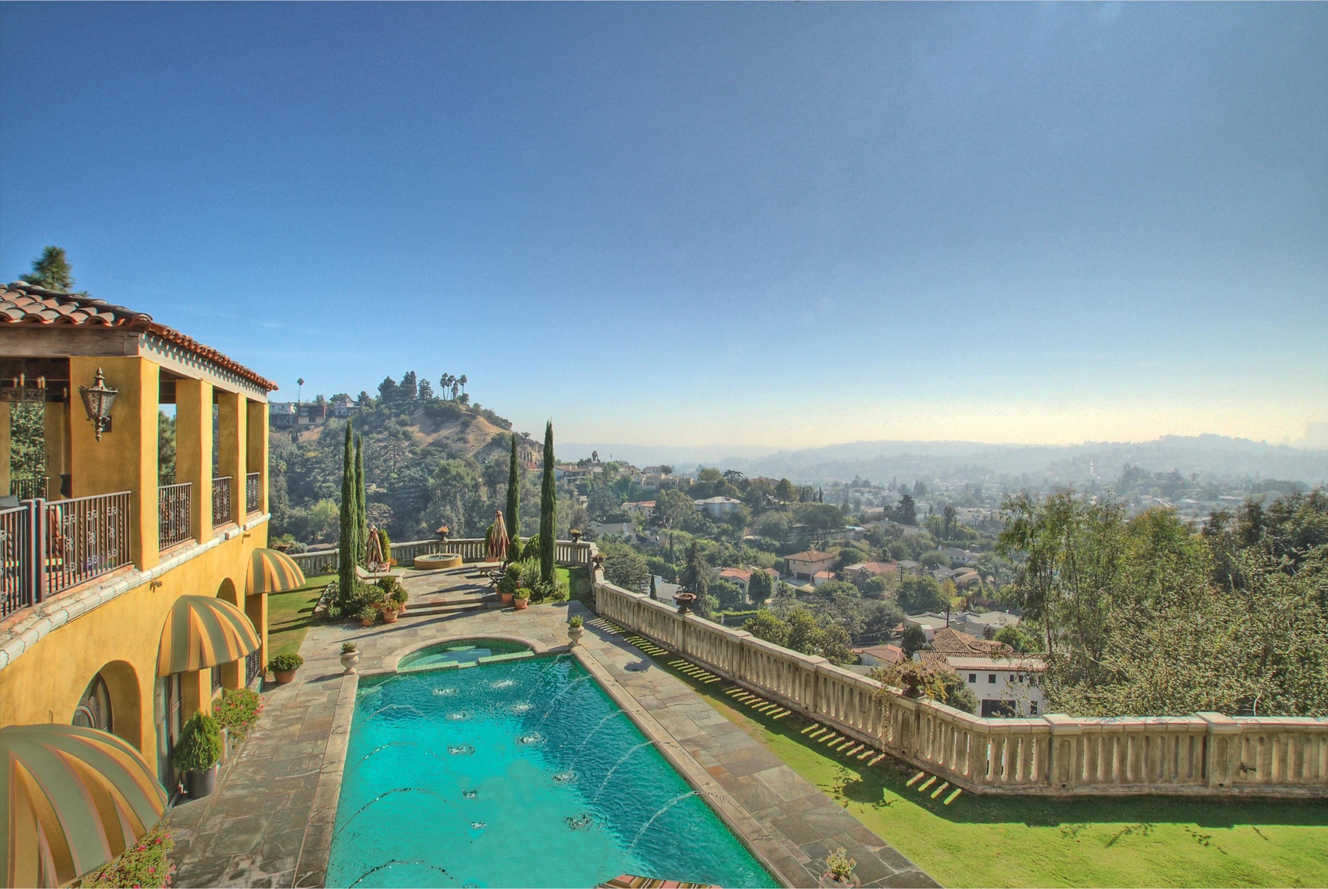 Historic Old Hollywood Tuscan Villa