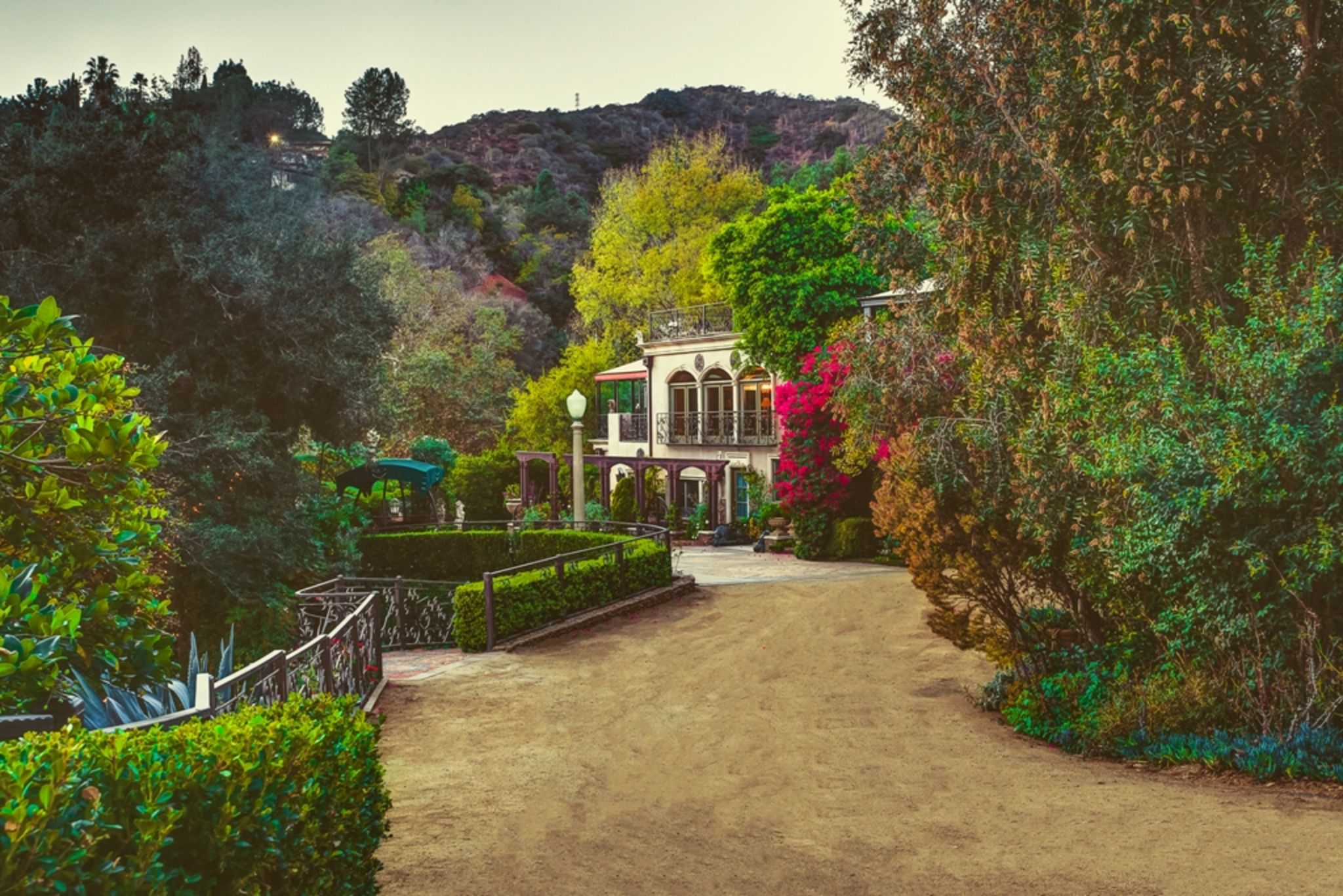 Historic 5 Acres Estate in Hollywood Hills, Los Angeles, CA ...