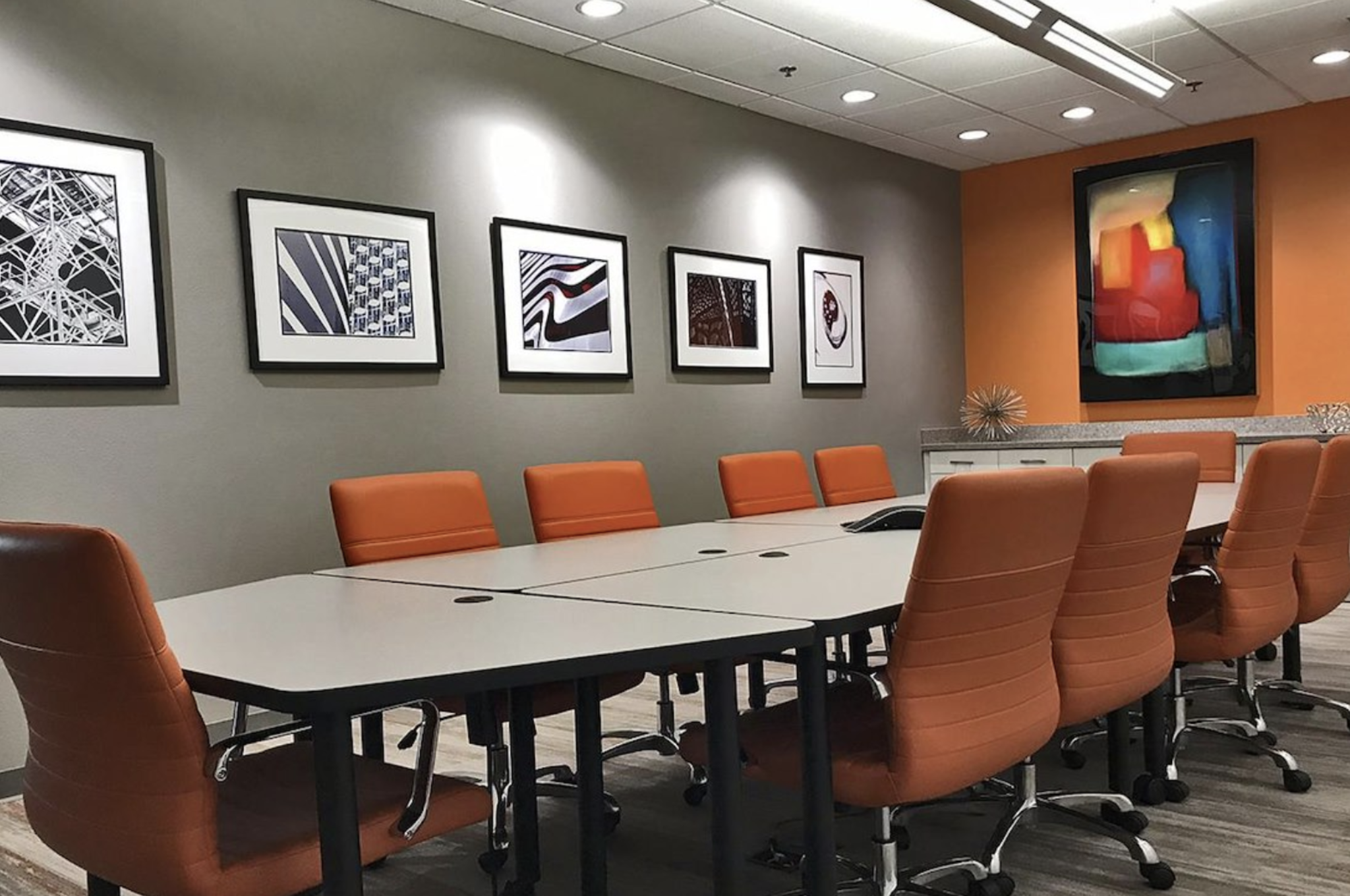 Gorgeous Art Inspired 48-48 Person Conference Room in Vista