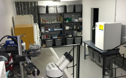 Modern Science Laboratory - Active Working Lab with Equipment