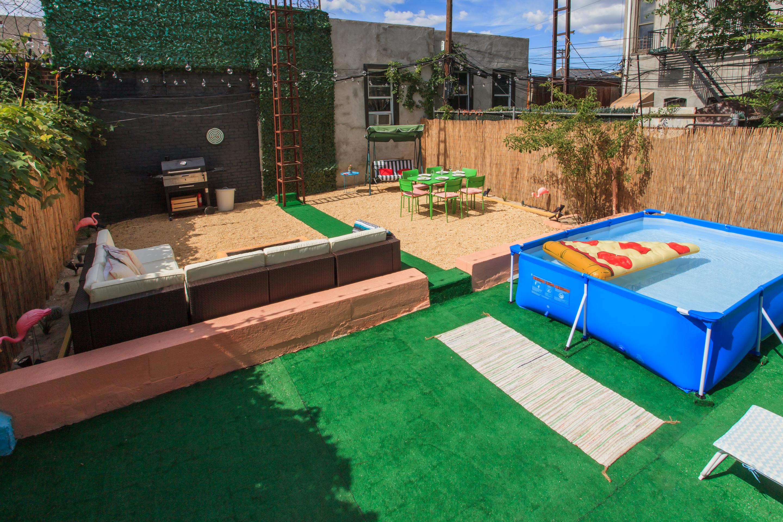 tropical paradise in brooklyn backyard brooklyn ny event