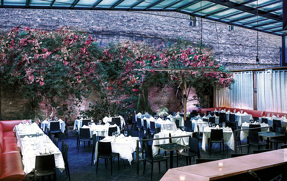 Indoor Garden Style Event Space In The Middle Of Nycs Meatpacking