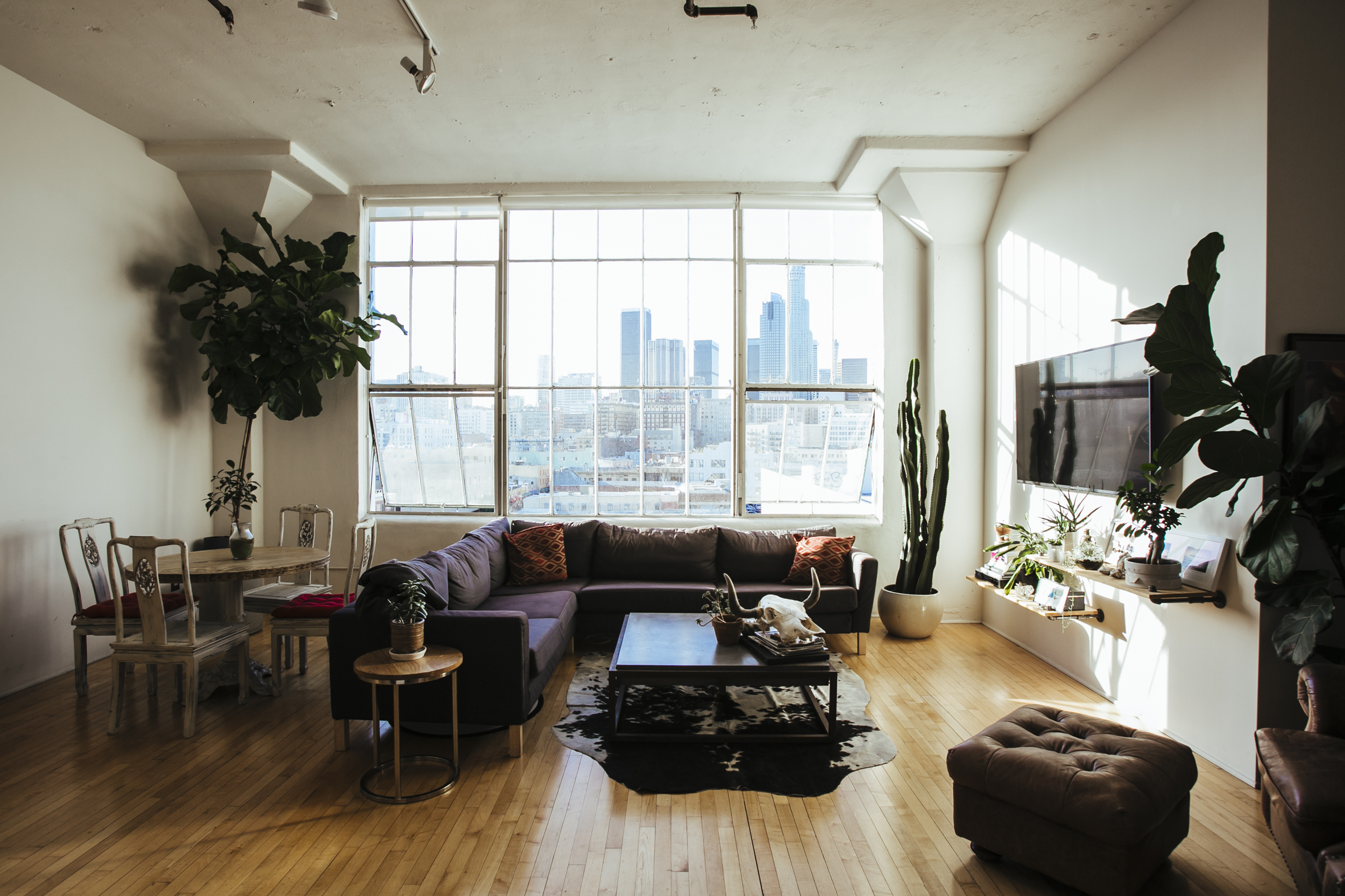 Downtown Los Angeles Loft With North, Laminate Flooring Downtown Los Angeles