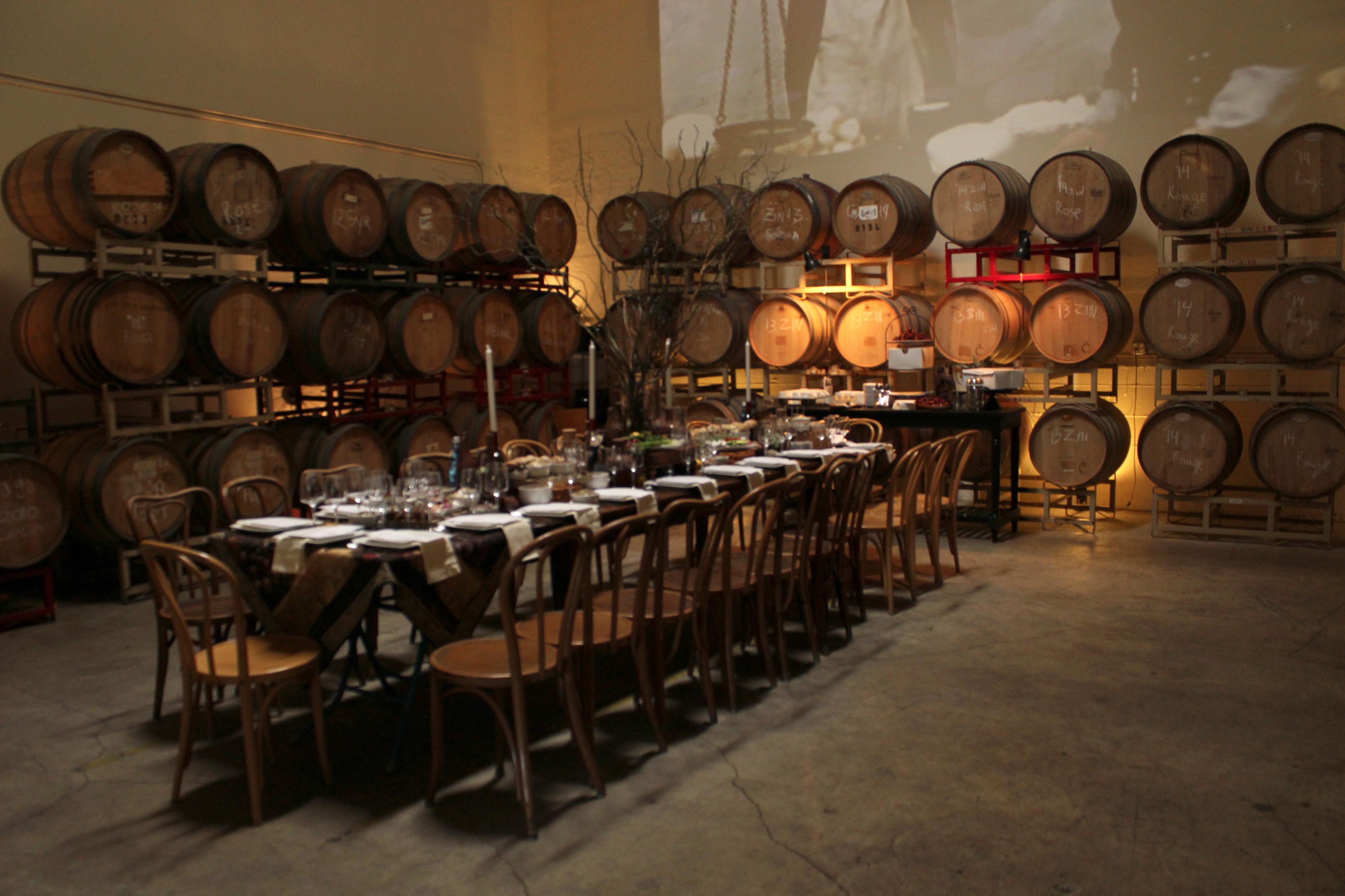 Urban Winery | Tasting Room | Barrel Room, San Francisco, CA | Event ...