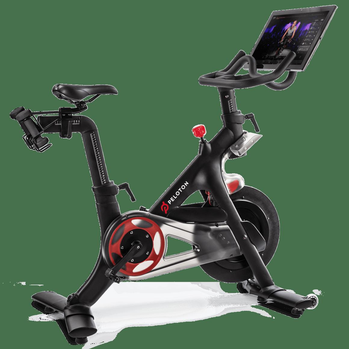 Peloton Bike Indoor Exercise Bike With Online Streaming