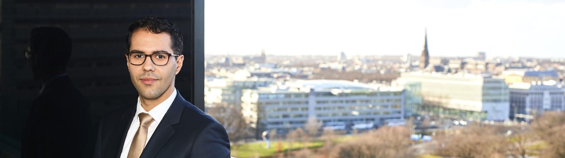 Redouan El Gamali, advocaat Pels Rijcken