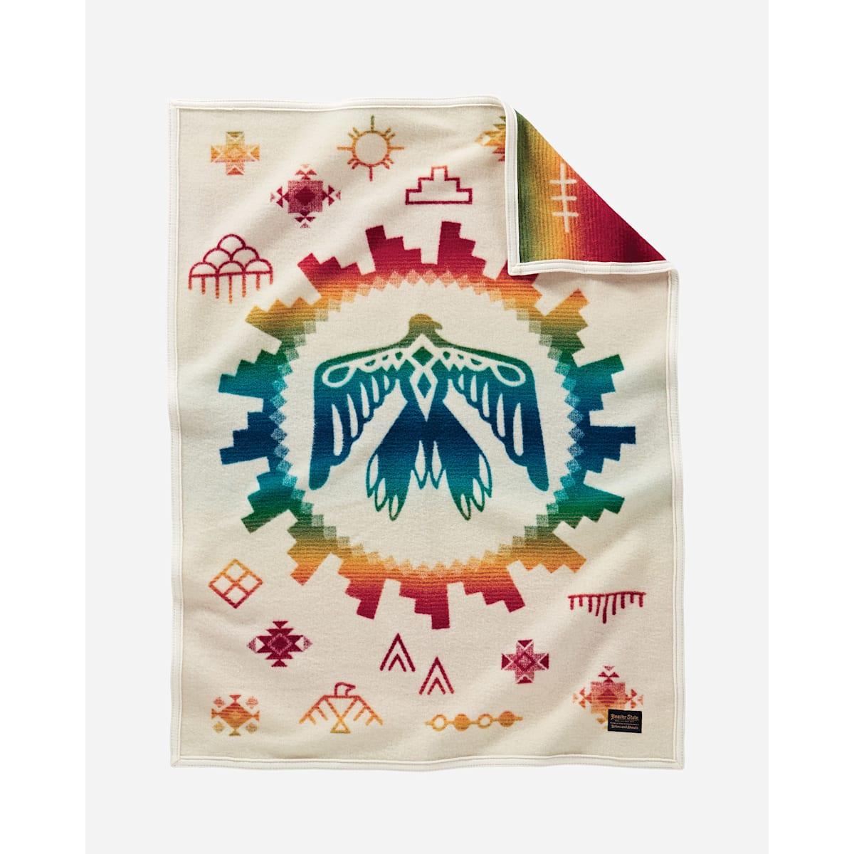 """Pendleton Baby Blanket-Sunrise Eagle 32""""x44"""""""
