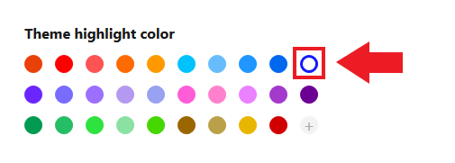 substack color, substack change color, substack newsletter color, substack theme highlight color, substack theme color