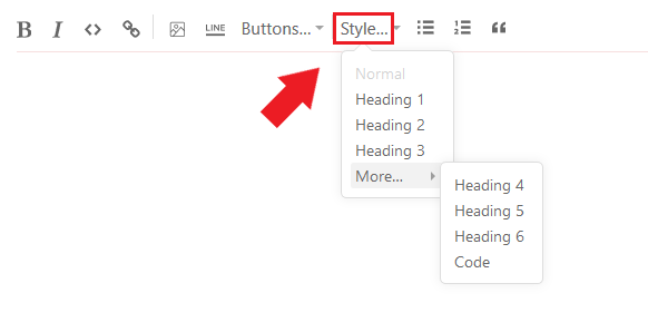 substack button, substack style, substack design, substack style button, substack heading button, substack heading