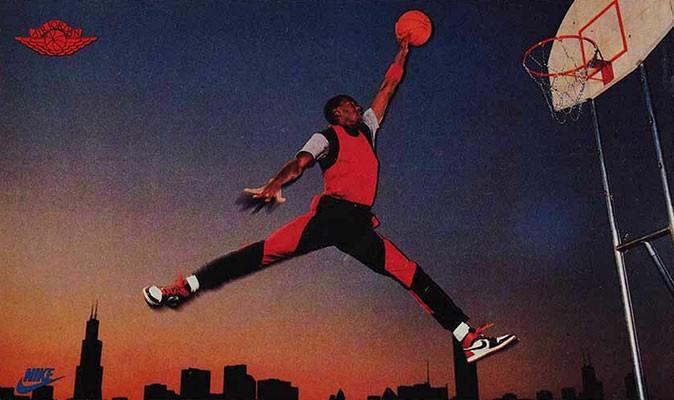 Michael Jordan—Air Jordan Nike sponsorship