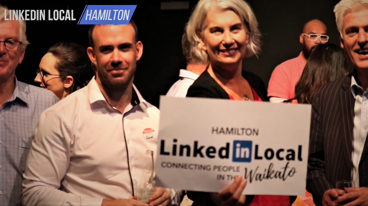 Linkedin local business networking event