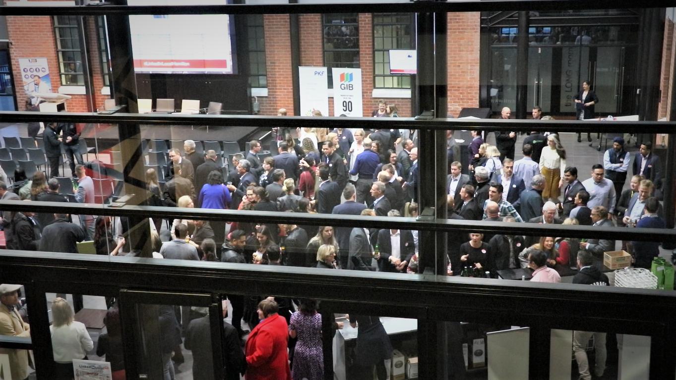 Crowd at Linkedin Local Hamilton