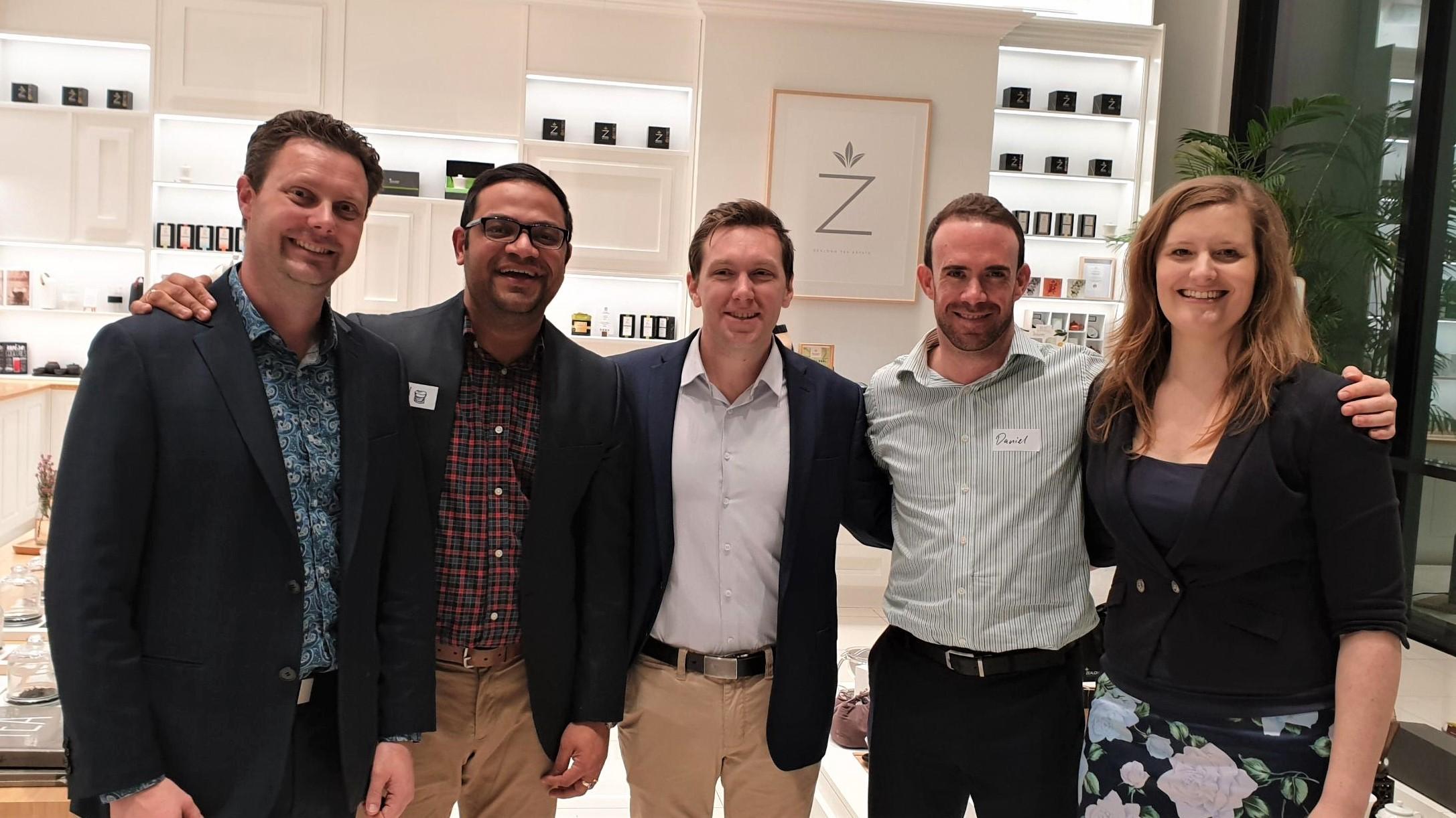 Linkedin local Hamilton event at Zealong Tea