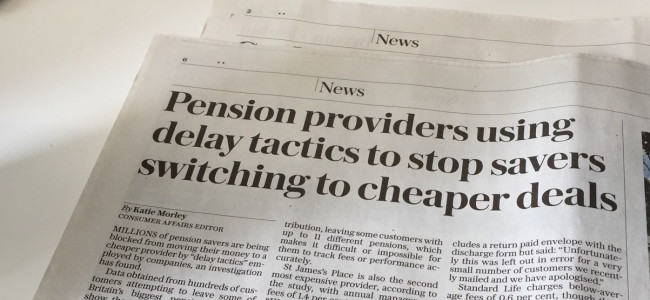 The secrets of the pension aristocrats are out…