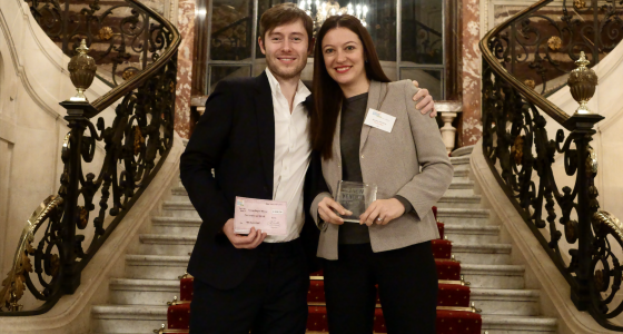 PensionBee winner at the HBS New Venture Competition in Paris