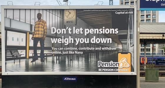 Our Pension Confident ads