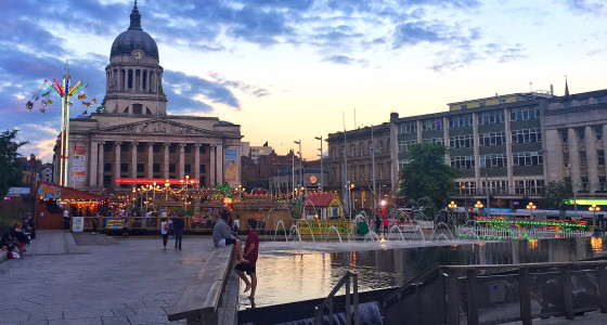 Nottingham town centre retirement destination