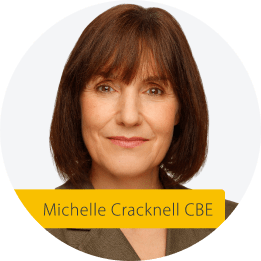 Michelle Cracknell CBE