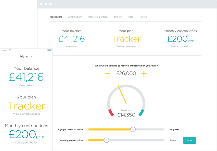 Your own pension dashboard with all your pensions in one place