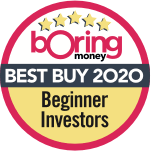 Boring Money's Best Buy 2020 for 'Beginner Investors'