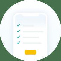 Heavy Checkmark Screen icon