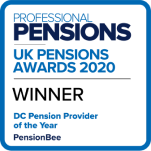 Professional Pensions UK pension awards for 'DC pension provider of the year'
