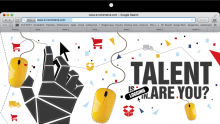 Talent is logging in. Are you?