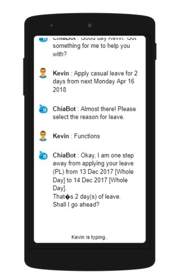 ramco chatbot