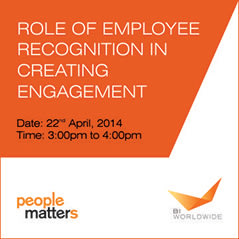 Role of Employee Recognition in Creating Engagement