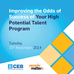 Improving the Odds of Success of Your High-Potential Talent Program