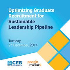 Optimizing Graduate Recruitment for Sustainable Leadership Pipeline