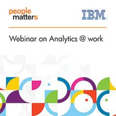 Webinar on Analytics @ Work