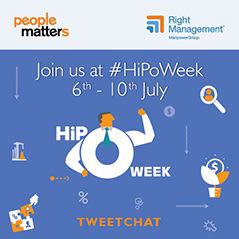 Tweetchat on Personalizing the HiPo Career Path