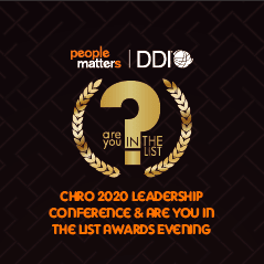 CHRO 2020 Leadership Conference & Are You In The List Awards Evening