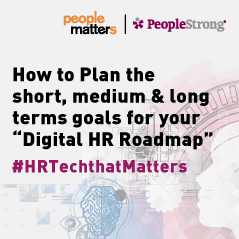 "How to plan the short, medium and long term goals for your ""Digital HR Roadmap"""