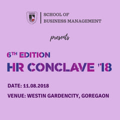 6th Edition HR Conclave 2018 : HR at Crossroads - Traversing Seismic Divergences