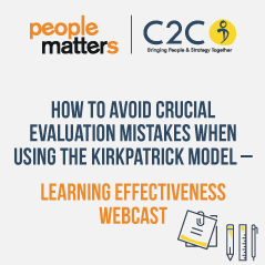 Avoid crucial evaluation mistakes when using the Kirkpatrick model