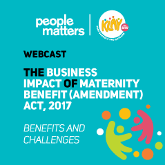 Business impact of Maternity Benefit Act, 2017:Benefits and Challenges