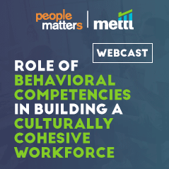 Role of behavioral competencies in building a culturally cohesive workforce