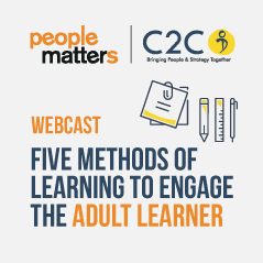 Five Methods of Learning to Engage the Adult Learner