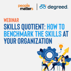 Skills Quotient - How to benchmark the skills at your organization
