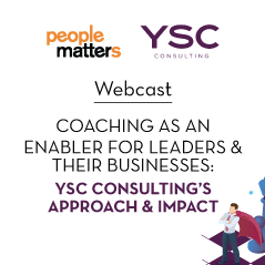 Coaching as an enabler for leaders & their businesses: YSC's approach & impact