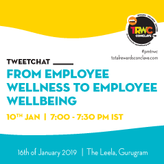 Tweetchat on 'From employee wellness to employee wellbeing'