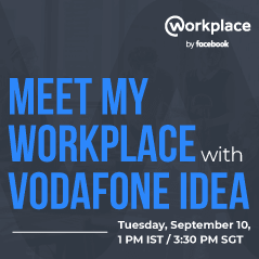 Meet my Workplace with Vodafone Idea