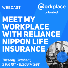 Meet My Workplace with Reliance Nippon Life Insurance