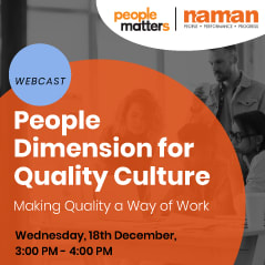 People Dimension for Quality Culture