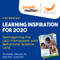 Reimagining the L&D Framework in 2020 with Behavioral Science Lens