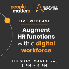 Augment HR functions with a digital workforce